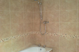 Professional Ceramic Bathroom Wall Tile Work By SGL Ceramics
