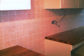 Professional Ceramic Kitchen Wall Tile Work By SGL Ceramics